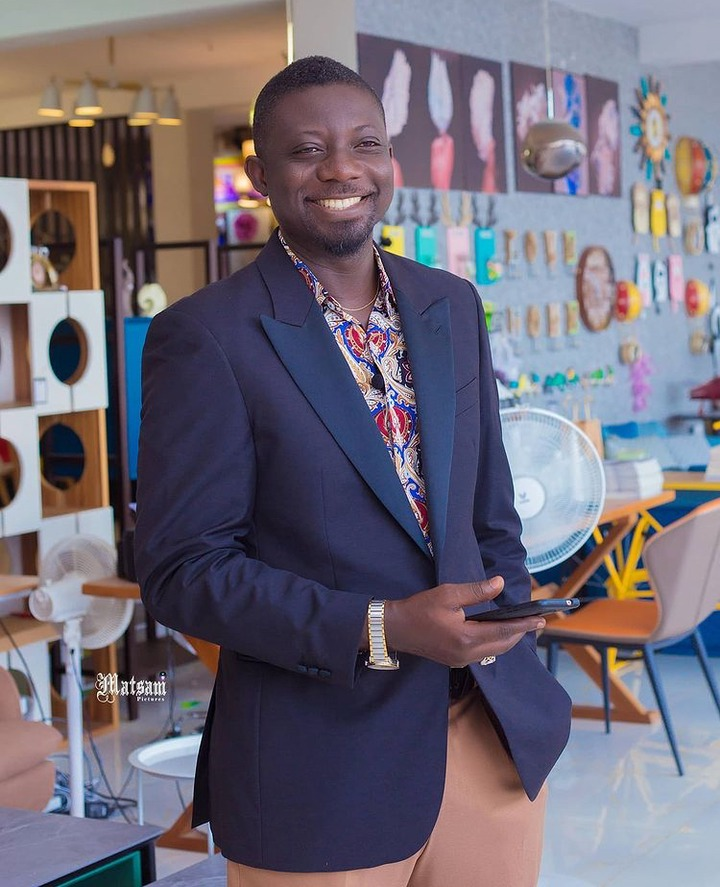 Pictures of Bill Asamoah that shows he is one of the finest actors in the country