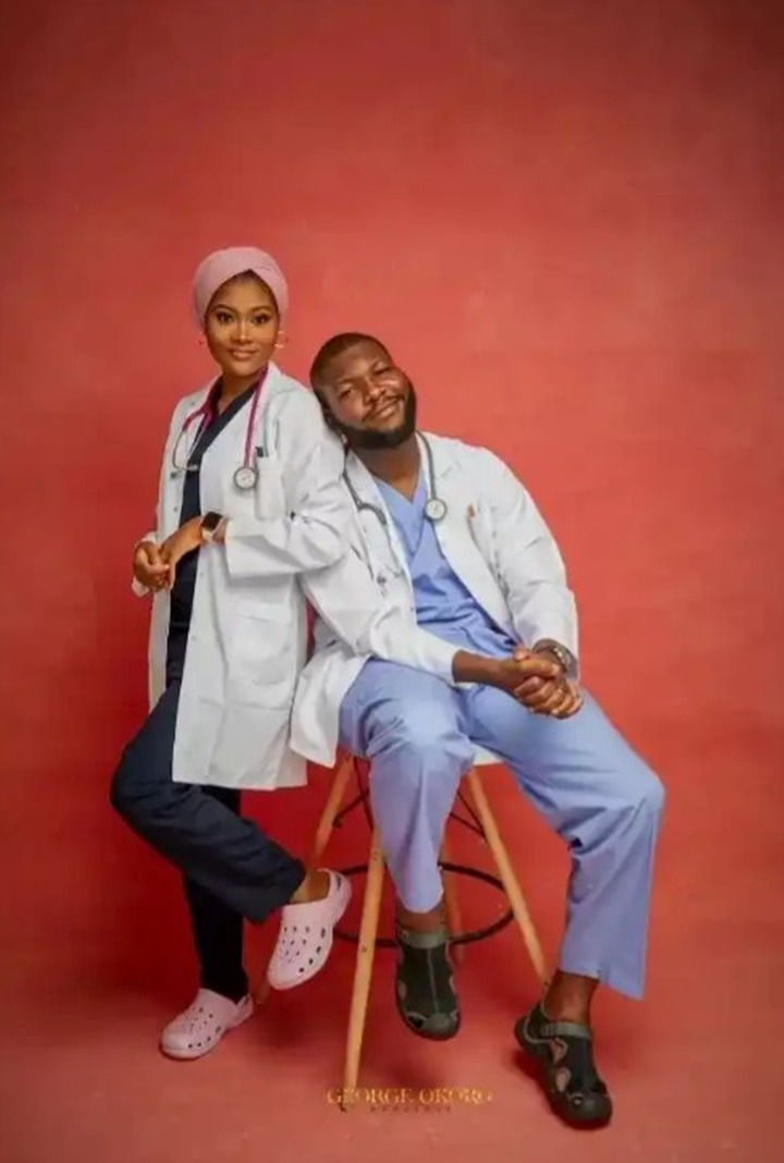 Pre-wedding pictures of Doctors and Nurses that will make you believe in love (photos)