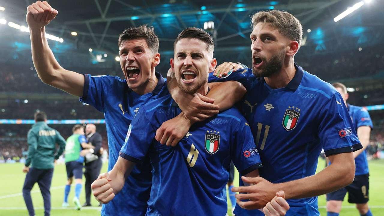 Italy - celebration - Euro 2021