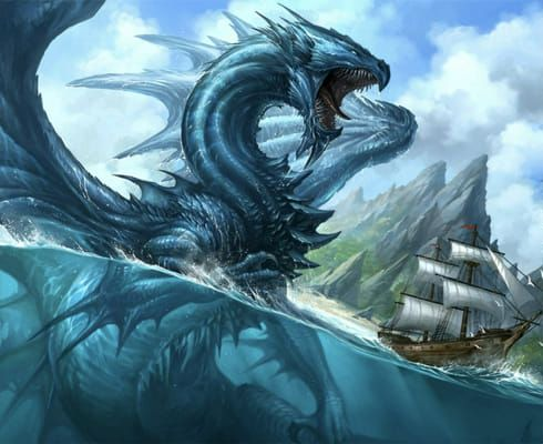 Which dragon will you tame | Leviathan in 2021 | Mythical creatures art,  Dragon pictures, Fantasy creatures