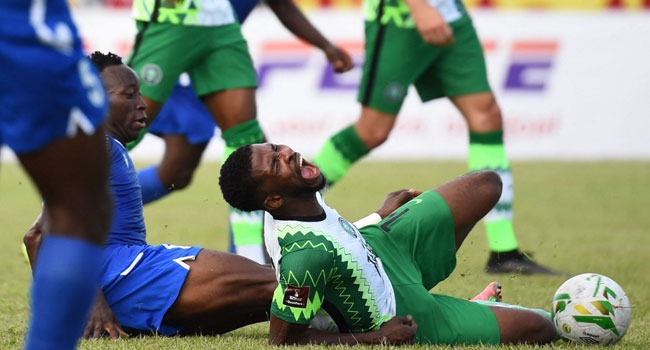 Kelechi Iheanacho is a doubt for the return leg against the Central African  Republic - Champion Newspapers LTD