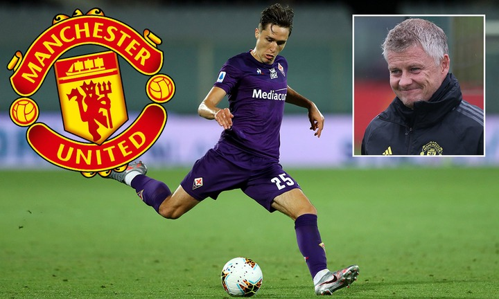 Manchester United 'close in on £50m-plus move for Fiorentina star Federico  Chiesa' | Daily Mail Online