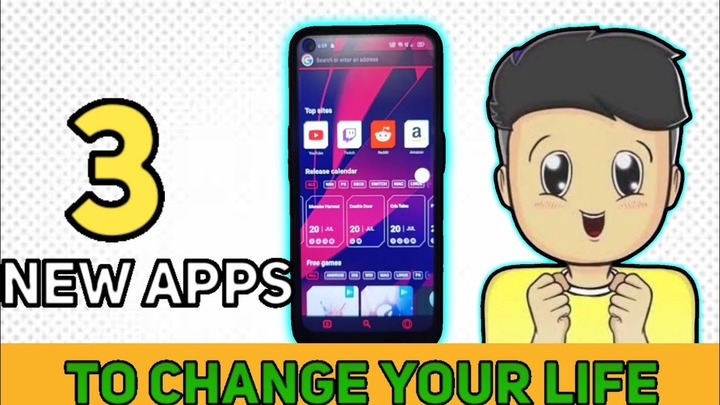 3 NEW APPS TO CHANGE YOUR LIFE😱 || DON'T MISS || BEST APPS || ANIMATION  TECH VIDEO || TECHNICAL RWP - YouTube