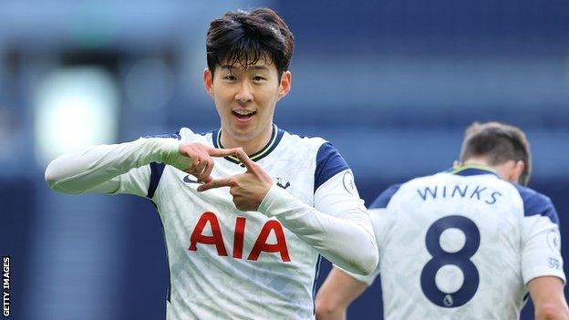 Son Heung-min: Tottenham forward signs new four-year contract - BBC Sport