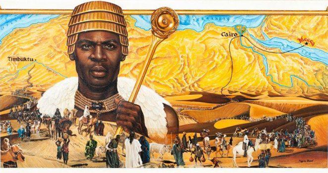 Mansa Kankan Mussa --King of Mali