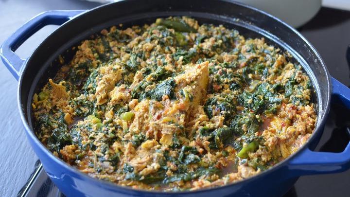 Tastiest Kontomire stew recipe (Cocoyam Leaves) - Ndudu by Fafa - YouTube