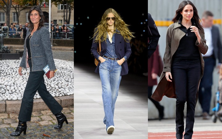 Bootcut jeans are back - here's how to wear them now