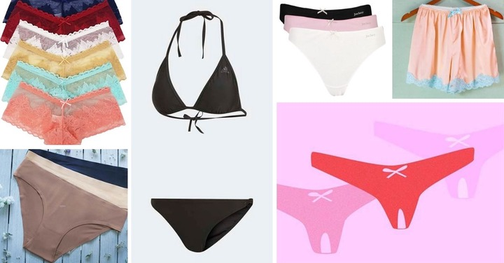 26 Different Types Of Panties For Ladies   Trendy Pins