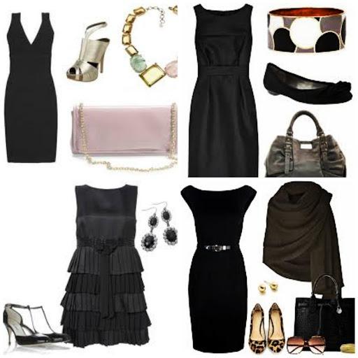 accessorizing a black dress> OFF-61%