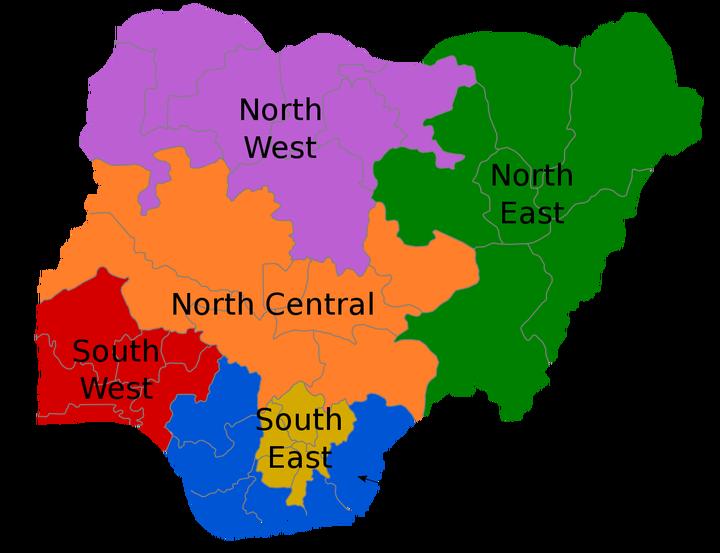 Geopolitical zones of Nigeria - Wikipedia