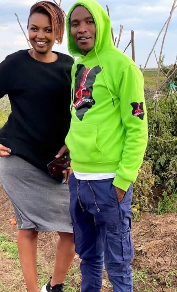 We are Just Friends,' Samidoh Denies Karen Nyamu's Baby - Opera News