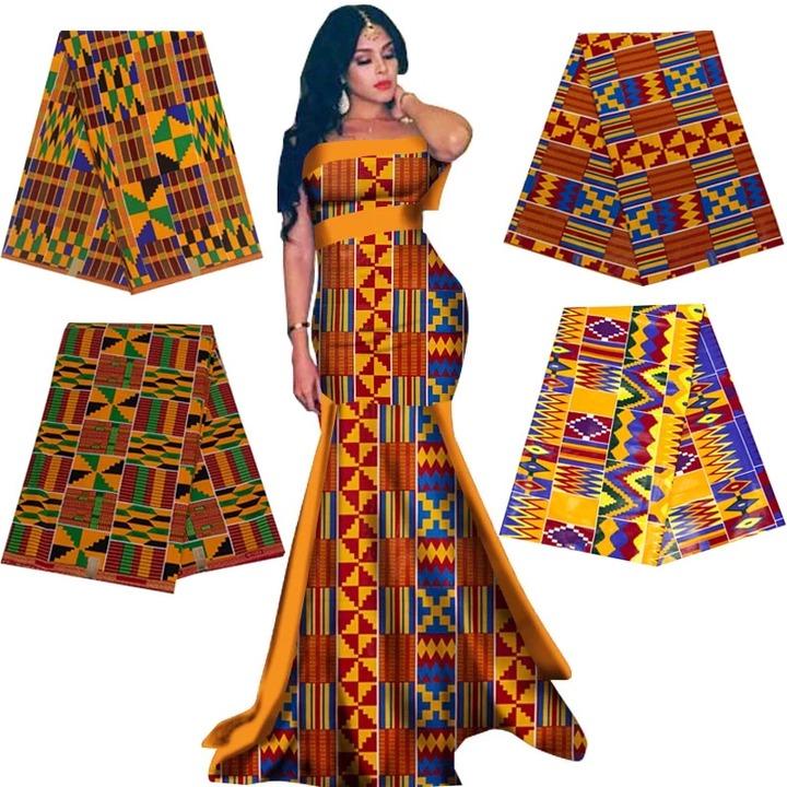 Real Wax Ankara Prints Kente Fabric Sewing African Dress Tissu Patchwork  Making Craft Loincloth 100% Cotton Top Quality Material Fabric  - AliExpress