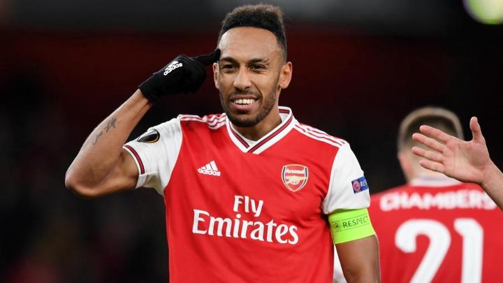 Aubameyang: I'm Arsenal captain and I love this club - AS.com