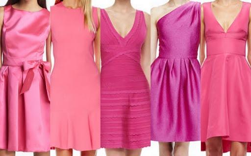 Fall-Winter Bridesmaid Dress Inspiration-Pink