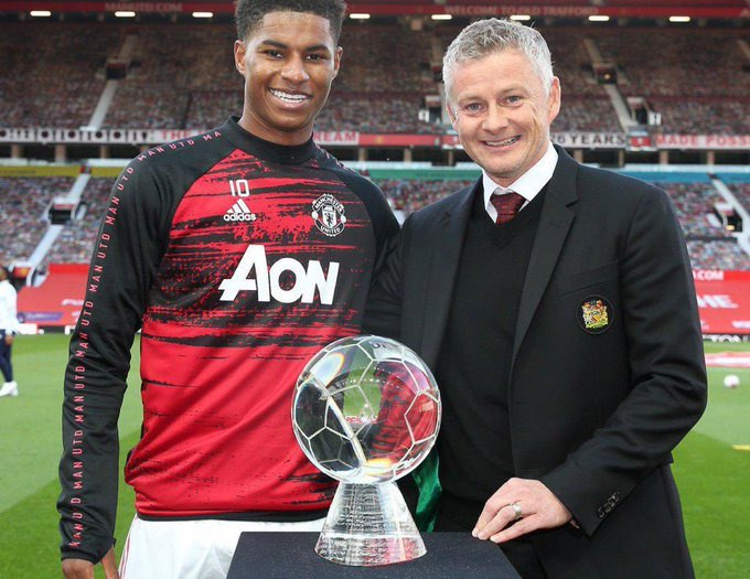 After Marcus Rashford Was Awarded By The Queen Of England See The Awards He Has Received In 2020 Opera News