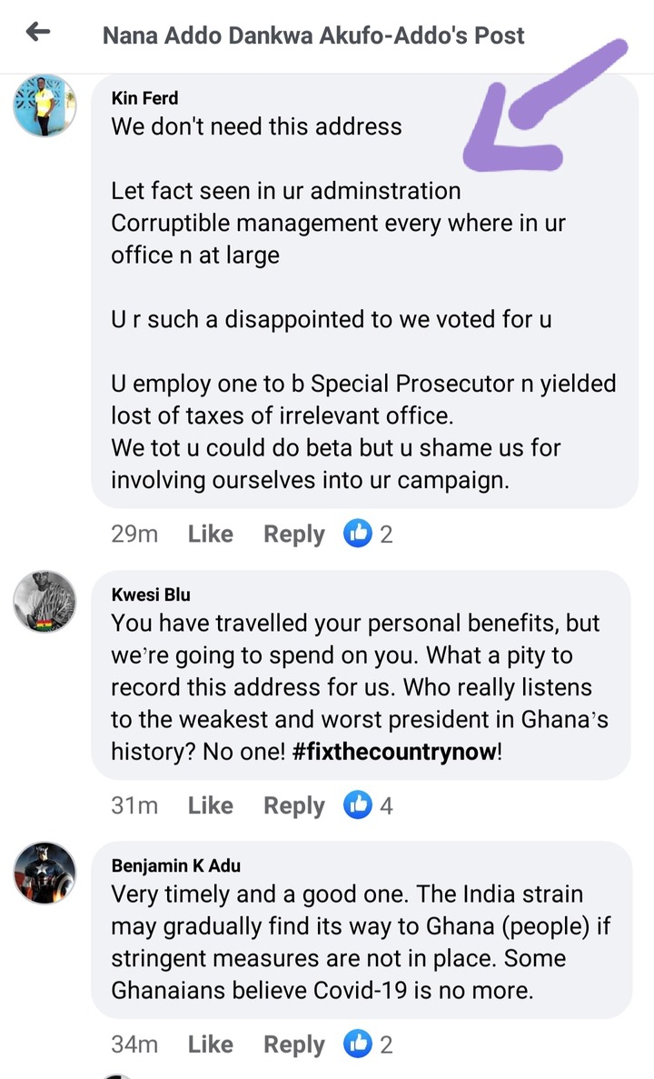 """#FixtheCountry: """"We don't need this address"""" — Ghanaians react to 25th Covid-19 address tonight. 60"""