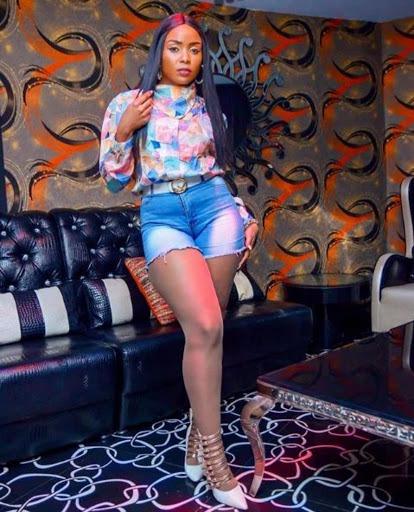 Slay queen wa yesu: Fans blast Kush Tracey over her dressing