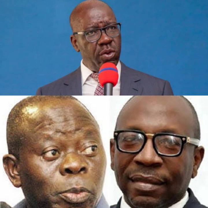 Edo APC: Oshiomhole Unknowingly Revealed A Grand Threat Obaseki ...