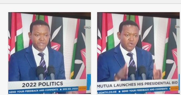 Governor Afred Mutua launches his 2022 presidential bid - Opera News