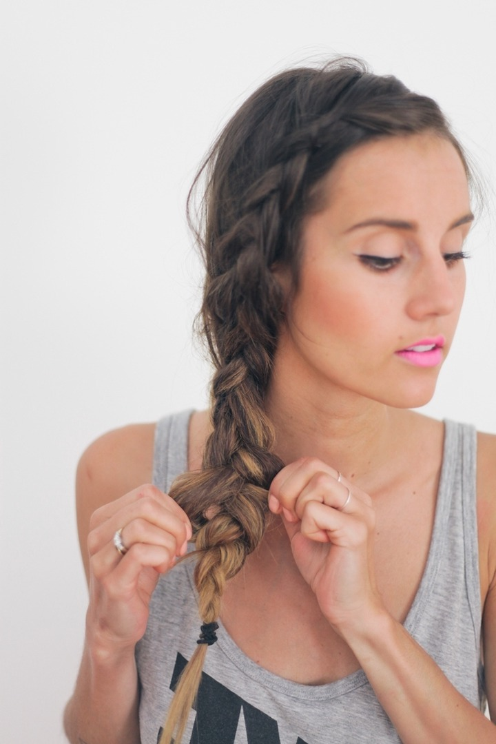10 Easy Hairstyles For The Beach – The Everygirl Pertaining To Most Up To Date Beachy Braids Hairstyles (View 2 of 20)