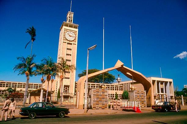 The National Parliament Building of Kenya. Nairobi, Kenya.