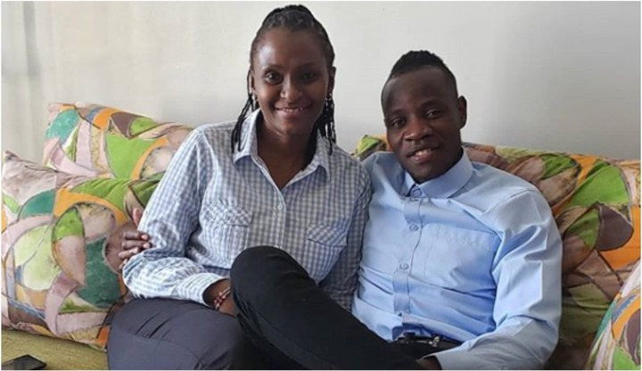 New photos of Guardian angel and his beloved Esther Musila that have rattled the interwebs