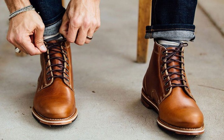 good leather boot brands Promotions