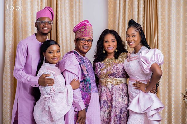Tope Alabi family