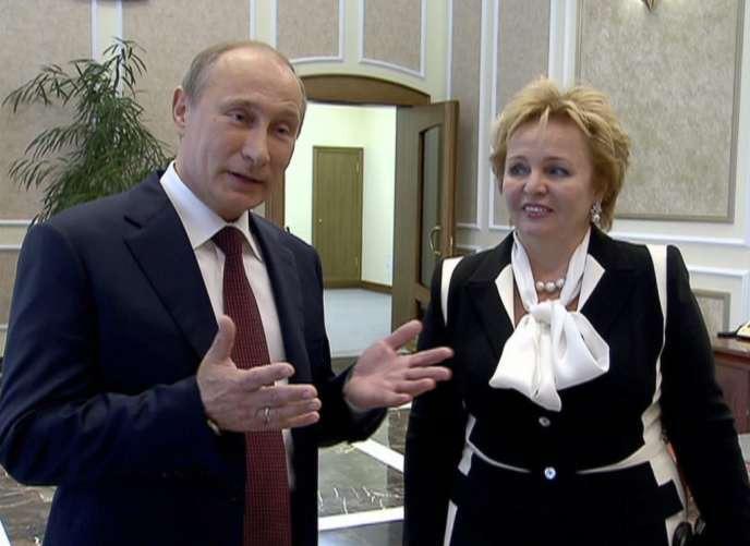 Vladimir et Lioudmila Poutine