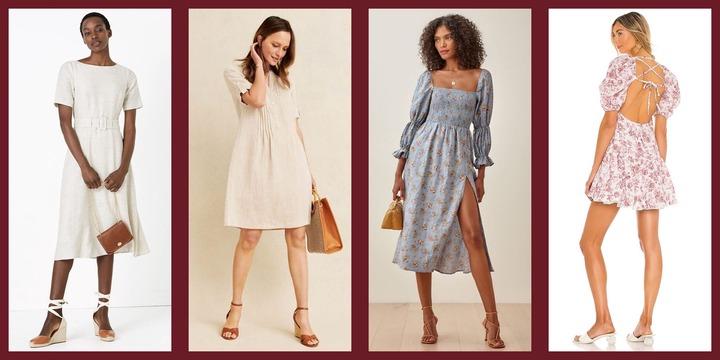 20 Best Linen Dresses for Women 2021 - Stylish Light Linen Dresses to Wear  All Summer