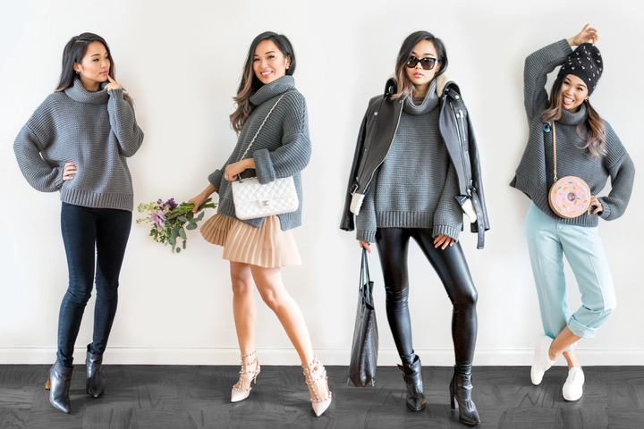 How to: Style a Chunky Turtleneck — Patricia Chang