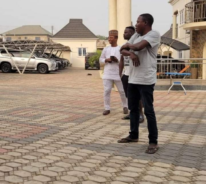 Updates Of Activities At Sunday Igboho's Residence (Pictures) - Sleek Gist