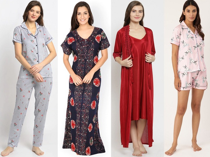 30 Different Types of Nightwear Dress for Ladies in India   Styles At Life