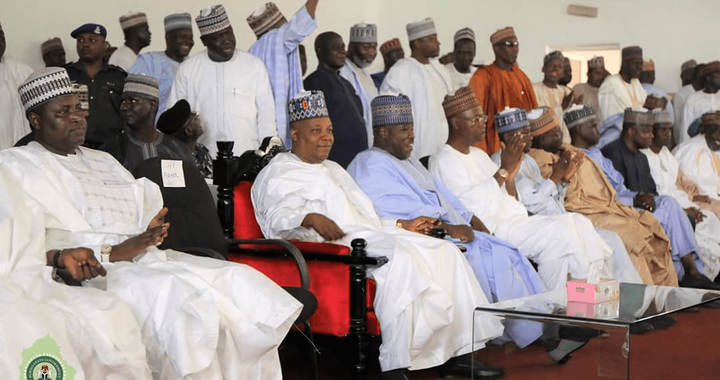 Thousands gather in Borno to welcome Ali Sheriff back to APC
