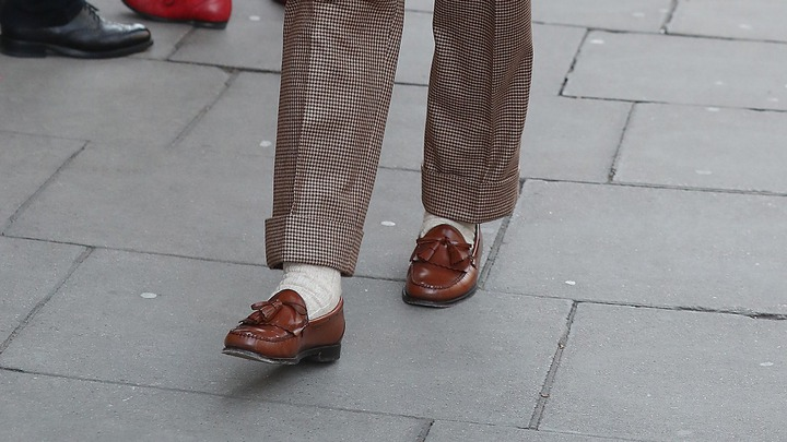 How to wear loafers in winter   British GQ   British GQ