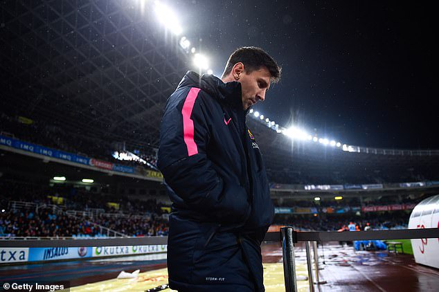 Messi caused a huge storm at Barcelona after not starting against Real Sociedad in 2015
