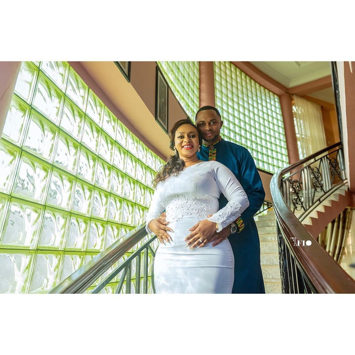 Photos of Adwoa Safo and her current husband drop on their wedding anniversary. 61