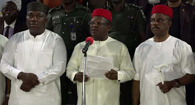 South-East Governors Urge FG To Fix Federal Roads, Airport In The Region –  Channels Television