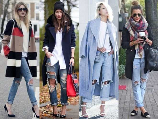 12 Ways to Wear the Distressed Denim Trend for Fall - Creative Fashion