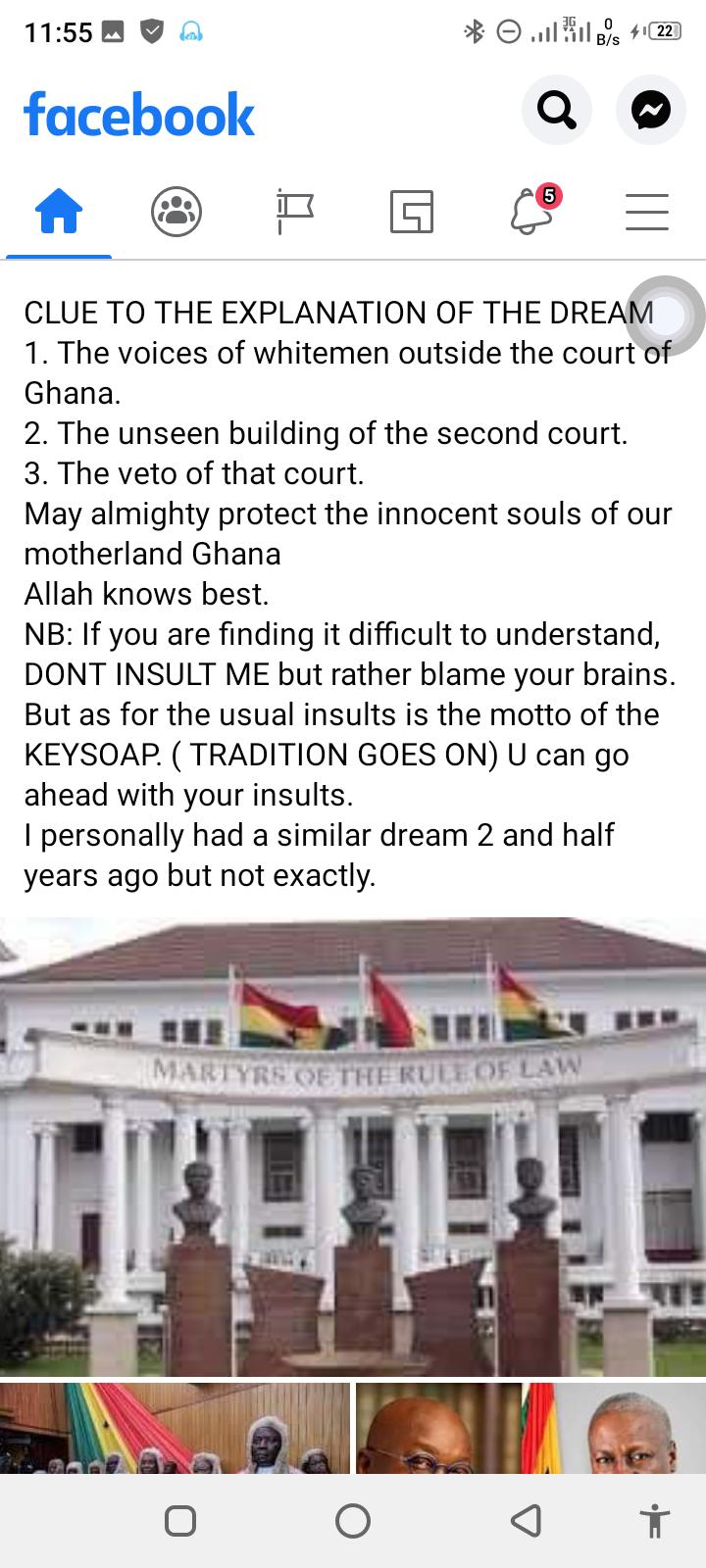 I Saw Mahama Lost The Court Case But Something Strange Happened- Islamic Cleric 4