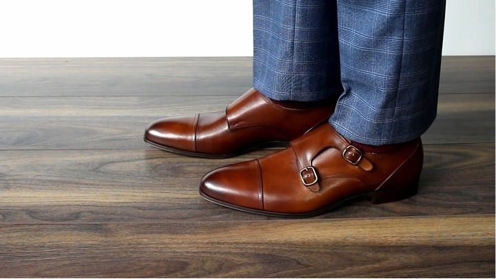 Tan Monk Strap Shoes Online Store, UP TO 59% OFF