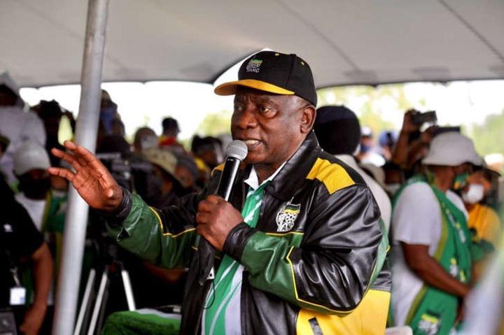 ANC president <a class=
