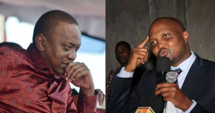 Moses Kuria Tries to Prove he's on Speaking Terms with Uhuru During Live  Interview