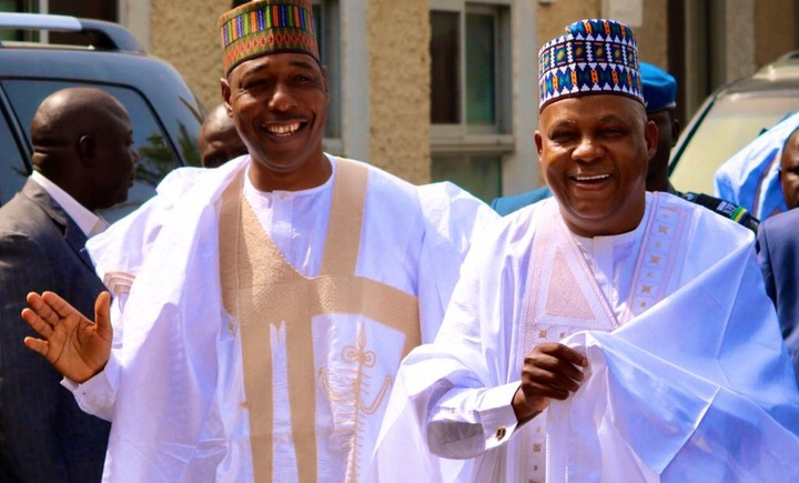 Shettima Hails Zulum As 'Boss' Upon Completion Of School Project