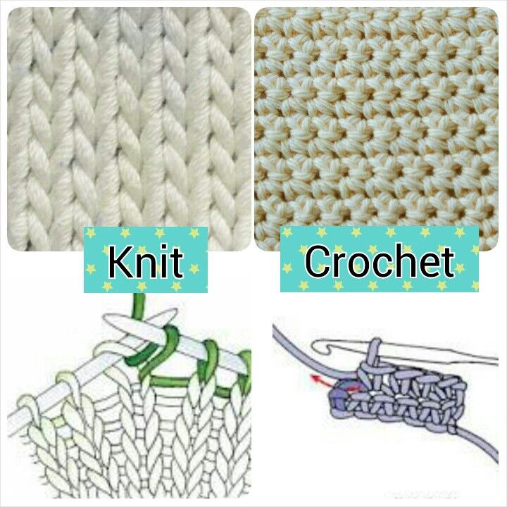 Knitting vs. Crocheting: What's the Difference, and How Should I Start? –  Thread Art Products