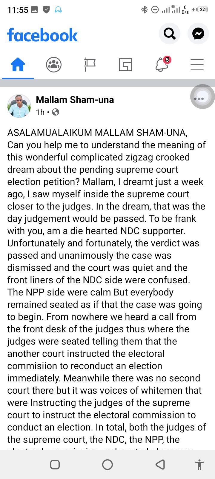I Saw Mahama Lost The Court Case But Something Strange Happened- Islamic Cleric 2
