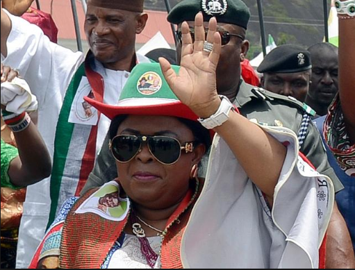 Patience Jonathan: Would Having A Female President Make Any Difference?