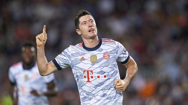 Football news - Robert Lewandowski at the double as Bayern Munich hammer  Barcelona at Camp Nou - Eurosport