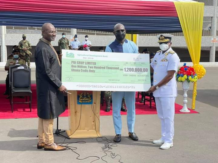Photos: Kennedy Agyapong cuts sod to construct a Cardio Centre at 37 Military Hospital. 64