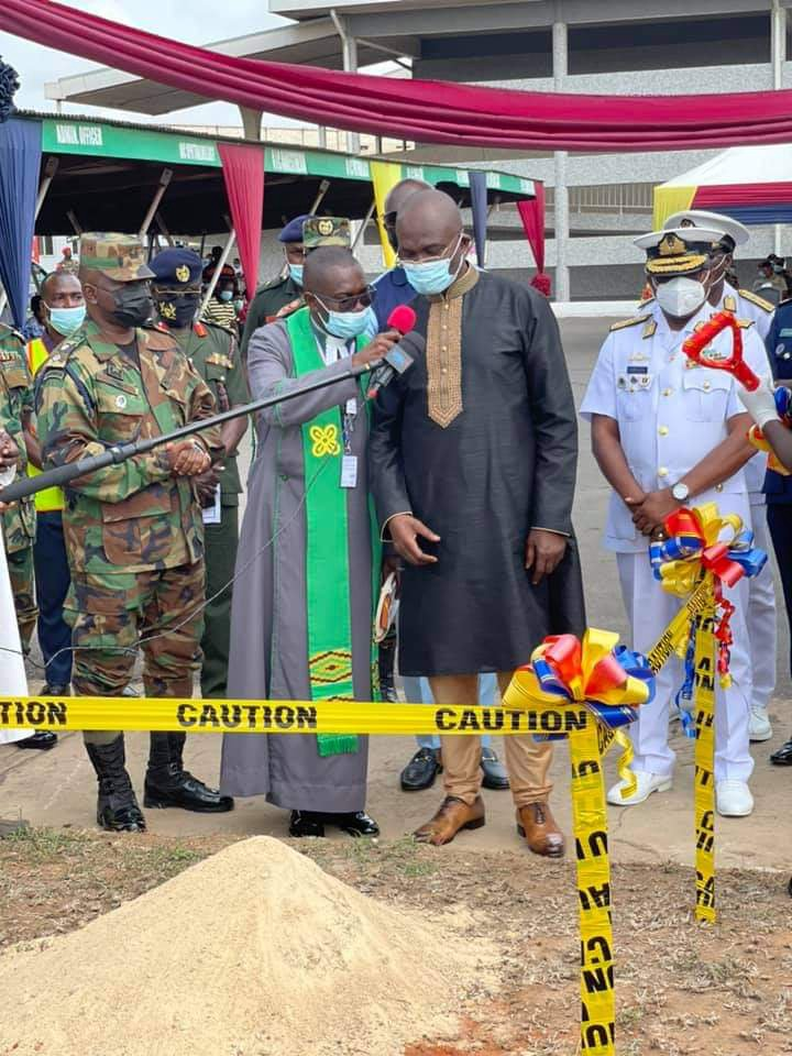 Photos: Kennedy Agyapong cuts sod to construct a Cardio Centre at 37 Military Hospital. 68